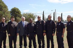 Veteran's and First Responder Tribute (Art Leal) Tags: david art mayor turner veterans ofd leal opd odessatexas