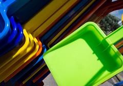 Abstract plastic (S's images) Tags: plastic seaside bucket spade bognor regis esplanade summer lime green
