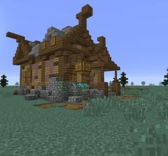 Minecraft (Gabby Green-Dragon) Tags: building skyrim minecraft