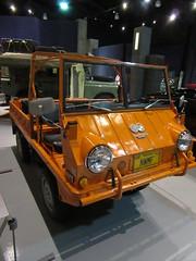 1971 Steyr Puch (Mr KLF) Tags: auto orange cars car museum automobile pennsylvania hershey autos 2016 aaca