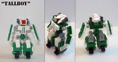 TallBoy - Overview (ArcHammer2) Tags: mobile robot lego frame zero wargame mecha moc mfz