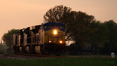 CSX approaching Bagby Road (VFR Photography) Tags: railroad field rural mixed gm tn adams diesel dusk farm tennessee rail fields locomotive lush ge mu hopper freight locomotives 109 railroads nightfall lateafternoon 1107 generalelectric hoppers csx manifest 631 railroading emd winterwheat sw1500 741 motivepower dieselelectric multipleunit sd70mac electromotivedivision robertsoncounty coveredhopper ac4400cw centerflow ac60cw coveredhoppers hendersonsub sadlersville hendersonsubdivision bagbyroad adjacentus41