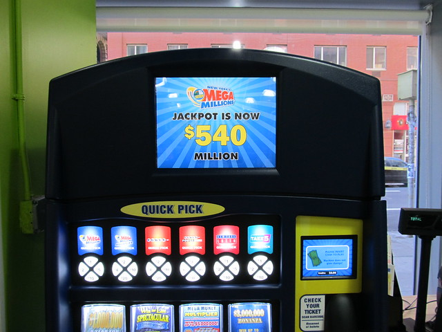 A few hours from now, the Mega Millions jackpot would go up by another $100,000,000 (03/30/12) (IMG_7405)