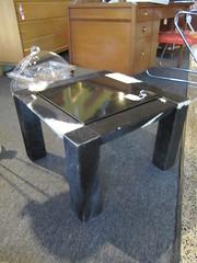 Cow print Side Table (Mod Livin') Tags: modern vintage design furniture danish eames midcenturymodern midcentury teak madmen heywoodwakefield selig risom midmod johnkeal