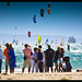 langebaan down wind dash , kite surfing