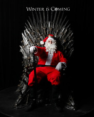 WINTER IS COMING (skonen_blades) Tags: santa christmas winter game me is claus coming stark duncan hbo thrones winterfell