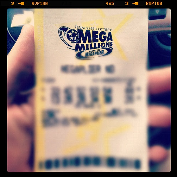 Got a lottery ticket! Definitely gonna win ;) #megamillions