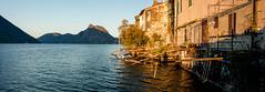 Gandria - Lugano - Switzerland (Nonac_eos) Tags: morning switzerland dock village lakeside wharf perched mountainside picturesque lugano unspoiled gandria inaccessible montebr nonaceos canontse24mmf35lii