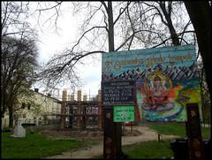 Ganesha Temple Berlin 2 (Harald Haefker) Tags: park building berlin constructionarea temple deutschland ganesha construction progress baustelle area april hindu neukoelln 2012 neubau neuklln hasenheide haraldhaefker