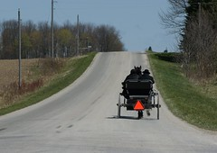 2012-04-22_Heading Home (Mark Burr) Tags: meetinghouse mennonite horseandbuggy brucecounty oldordermennonite huronkinloss