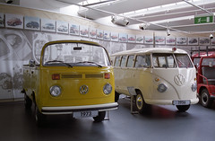 Germany 2012: Volkswagen Museum (Ronald_H) Tags: bus film vw volkswagen nikon air convertible ambulance fe transporter t1 2012 t2 aircooled cooled