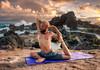 Sky Love Composite (mojo2u) Tags: ocean yoga sunrise hawaii maui hookipa skylove nikon2470mm nikond700