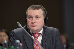 Jiri Vesely at the closed Ministerial session