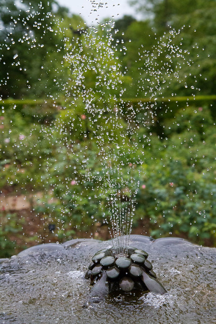 Fountain at Nymans