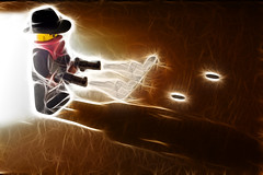 Chuck who? (Skley) Tags: toy photography photo cowboy ranger foto fotografie lego creative picture commons cc creativecommons figure tribute hommage bild spielzeug licence chucknorris kreativ texasranger lizenz skley dennisskley