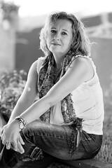Miguela (d.bejarano) Tags: portrait woman blanco mujer y retrato sony negro huelva alpha a900 dbejarano davidbejarano cz135