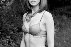 (keyana tea) Tags: park girl tattoo necklace skin personal kate bra minto