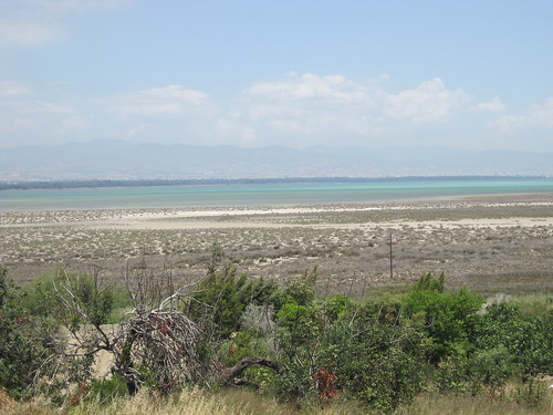 Views across to the salt lake at Akrotiri (2)