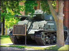 Week #24 Historic Landmark [24of52] (Camera Eye Photography) Tags: ontario canada green history canon tank conqueror oshawa week24 historiclandmark 24105mm t2i TGAM:photodesk=landmarks2012