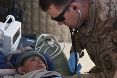 Medical Care (Army Medicine) Tags: afghanistan child medical soldiers local af treatment ghazni forwardoperatingbasewarrior