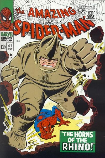 蜘蛛人最強壯的對手-犀牛人