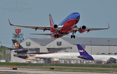 Southwest Airlines Boeing 737-7H4 N442WN (Winglet Photography) Tags: travel southwest wisconsin plane airplane leaving flying airport aircraft transport flight jet airshow ups transportation milwaukee sw boeing airlines fedex departure takeoff openhouse airliner 737 jetliner mke swa 737700 7377h4 73g mitchellinternationalairport n442wn kmke wingletphotography georgewidener georgerwidener