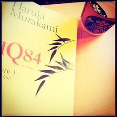 1Q84 (Melancholya) Tags: coffee caf book starbucks 1984 livre japon harukimurakami 1q84
