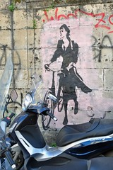 Going nowhere (mikael_on_flickr) Tags: muro bicycle wall mural bici sicily palermo fahrrad sicilia cykel bicicletta goingnowhere murale dipinto sicilien