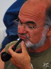 Smoking is strictly permitted (Kostis Tatakis) Tags: portrait face photography nikon pipe smoking greece smoker pipesmoker πρόσωπο nikond80 πορτραίτο