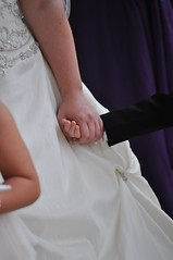 A comforting hand (bryanpage) Tags: wedding children holding hands harrison dress suit weddingdress pageboy harrisonhendrixpage harrisonpage michellechilds