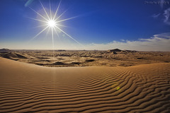 The Desert Under The Sun (TARIQ-M) Tags: pictures shadow sky cloud sun sunlight texture sahara lens landscape photo sand waves pattern desert image photos ripple patterns dunes picture wave images ripples rays  sunrays riyadh saudiarabia hdr      canoneos5d     goldensand                 canonef1635mmf28liiusm dahna  canoneos5dmarkii           aldahna