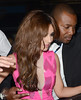 Cheryl Cole leaves Mahiki nightclub London, England