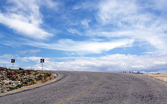 Decision time...... (Xrisindustrial) Tags: road sky tarmac clouds athens ymittos