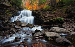 Rickett's Glen {Explored} (Marvin Foran Photography) Tags: statepark fallleaves fall waterfall fallcolor pennsylvania rickettsglen canon1740l rickettsglenstatepark pennsylvaniastateparks canon5dmarkii