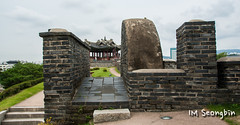 Secret Gate () (golbenge ()) Tags: gate pavilion fortress      secretgate suwonhwaseong  bukammun  worldculuralheritage suwonbanghwasuryujeong