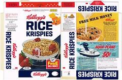 1966 Rice Krispies Aqua-Plane (bolio88) Tags: 60s rice box cereal 1966 retro kelloggs krispies