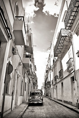 IMG_6727_2-001 (Madrigal1984) Tags: street sky cloud classic architecture island alley automobile antique havana cuba chevy alleyway caribbean cuban habana cubano chervrolet