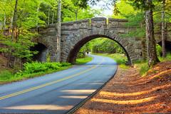 Carriage Road Bridge (Greg from Maine) Tags: nationalpark maine acadia windingroad acadianationalpark stonebridge sealharbor carriageroad stanleybrook stanleybrookbridge carriageroadbridge sealharbormaine mountdesertmaine