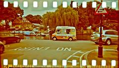 Ice Cream Dreams (forayinto35mm) Tags: london film 35mm holga xpro crossprocessed kodak e6 twickenham sproketholes kodakcolorplus
