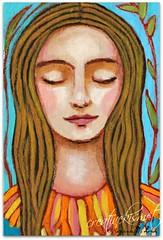 spring equinox (Regina Lord (creative kismet)) Tags: flowers nature girl spring earth goddess mother vernal equinox