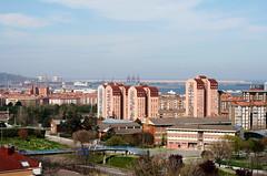 Gijn desde las alturas... (Slya Cabret) Tags: espaa spain asturias gijon alturas windowsview