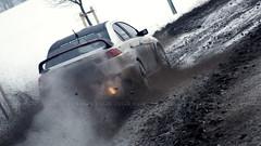 Armin Holz - Sebastian Geipel // Mitsubishi Lancer EVO X (~TK420~) Tags: sebastian x armin holz lancer mitsubishi rallye evo erzgebirge oberdorf 2013 wp11 geipel erze kly420