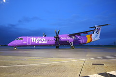 G-JECY (dogman3791) Tags: dh8 flybe newquayairport gjecy