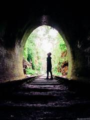 tunnel and sea (judexvalentine) Tags: travel sea sky nature landscape sydney tunnel nsw sydneyaustralia
