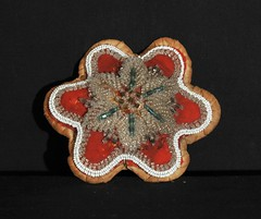 Iroquois Beadwork New York USA (Teyacapan) Tags: souvenirs beads whimsy crafts indian nativeamerican antiques beadwork iroquois