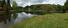 Stourhead Views 2643_2651 (Thorbard) Tags: wood trees panorama lake tree water forest woodland reflections landscape lakeside stourhead wiltshire nationaltrust englanduk canonefs1585mmf3556isusm manfrotto300n