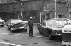img027 (citatus) Tags: street bw toronto canada car king traffic minolta accident parliament east 102 1970s srt