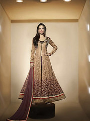 Tan Brown Net Achkan Style Suit (nikvikonline) Tags: uk wedding usa brown canada color fashion festival work women designer australia wear fancy online frock weddingdress desinger kameez shalwar anarkali womenswear dailywear freeship freeshipping womenclothing fashiondress designerwear womenfashion weddingwear designersuit designercollection onlinewomens anarkalisuitsdesigns onlinekameez achkanstyle kamizonline brownsalwar brownkamiz brownkamizsalwar