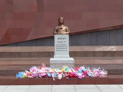 Kim Il-Sung's Wife (Daniel Brennwald) Tags: cemetery korea wife revolutionary northkorea pyongyang dprk kimilsung nordkorea pjngjang maryrscemetery