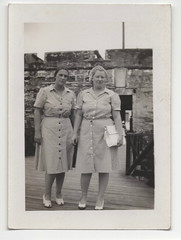 Exa and Kat 2 (melissa.langston) Tags: october 1940 kathleengmimsreynolds billieexareynolds